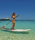 Paddle Boarding Amedee Island