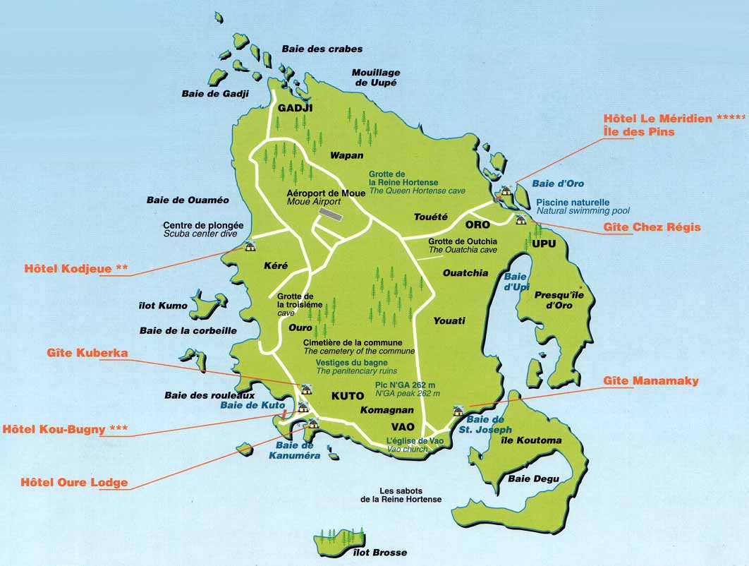 Isle Of Pines Map Isle Of Pines Map | compressportnederland Isle Of Pines Map